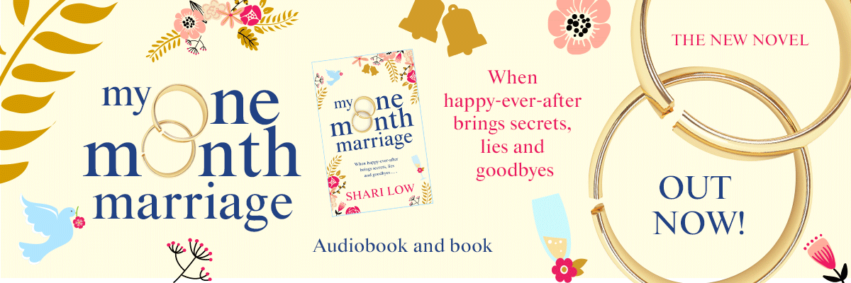 My One Month Marriage - the new novel by Shari Low