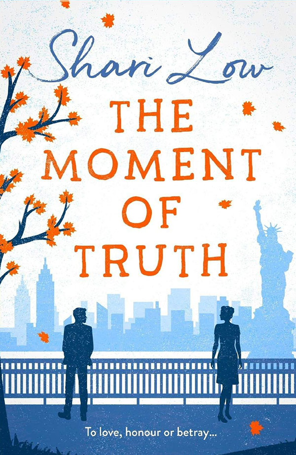 The Moment of Truth by Shari Low book cover